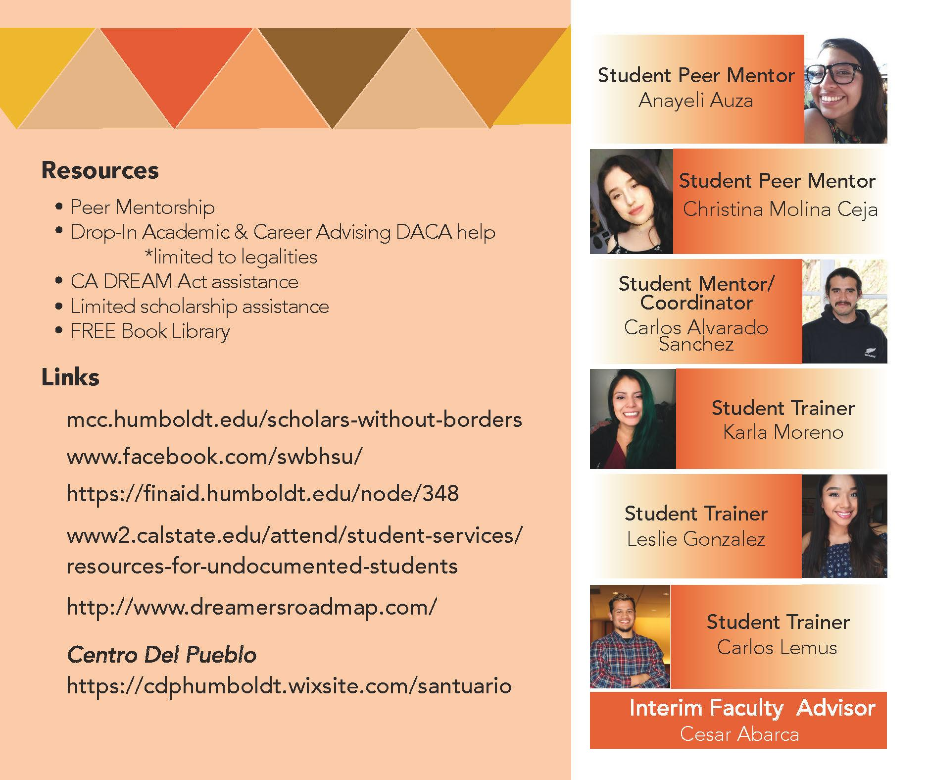 Scholars Without Borders Flyer