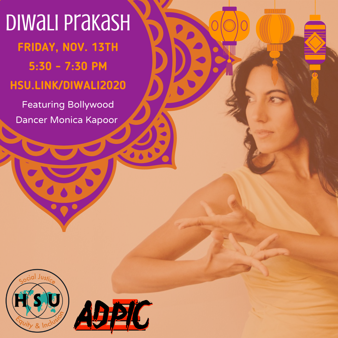 Diwali Bollywood dancer hsu.link/diwali2020